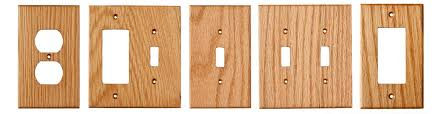 oak wood wall plates example varieties oak light switch plates and covers
