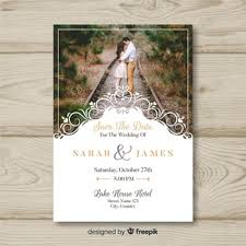 Wedding Invitation With Photo Wedding Invitation Vectors Photos And Psd Files Free Download