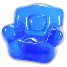 grasstanding eplap 17621 urban furniture. blow up furniture inflatable chair ocean blue grasstanding eplap 17621 urban