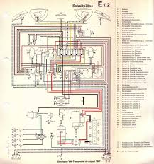 volkswagen wiring diagram images wiring diagram for  zum deutscheneuropischen volkswagen transporter t2