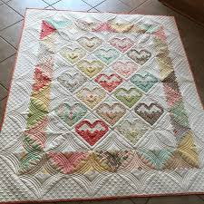 1189 best Quilting Projects images on Pinterest | DIY, Homes and ... & Couldn't resist posting another picture of this #logcabinheartblocks #quilt  using @figtreeandco Adamdwight.com