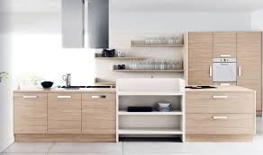 Small Picture Modern White Oak Kitchen Furniture Set Kitchen Designs