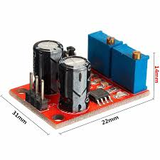 5pcs ne555 pulse frequency duty cycle adjule module square wave signal generator stepper motor driver