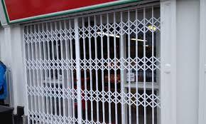 trellidor security folding grilles