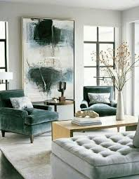 scale of art work and chair design and fabric but in lavender instead of green greige interior design ideas and inspiration for the transitional home