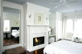 dark crown molding framing mirrors with bedroom traditional white wood floor brown moulding