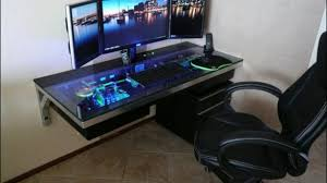 Best Best 25 Gaming Computer Desk Ideas On Pinterest Gaming Desk Intended  For Cool Computer Desks Decor ...