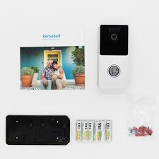 Buy <b>Wireless Wi-Fi Video</b> Doorbell | Motion Sensing Doorbell ...