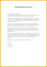 Leave Letter Format Employer New 10 Maternity Leave Requesting