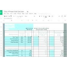 Sales Budgets Templates Sales Department Budget Template