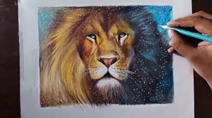 lion drawing color. Delighful Lion Throughout Lion Drawing Color O