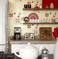 Kitchen Wallpaper Red And Black Kitchen Wallpaper Yes Yes Go