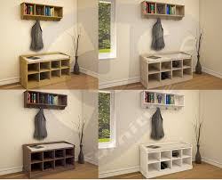 Hallway Furniture Coat Rack Hallway Furniture Coat RacK Hook Hanger Storage Shoe Bench Cabinet 31