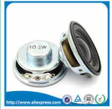 <b>2PCS</b>/<b>Lot High Quality Speaker</b> Horn 3W 4R Diameter 4CM Mini ...