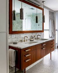 Bathroom : Cool Mid Century Modern Bathroom Vanity Ideas With ...