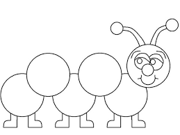 Small Picture Caterpillars Learn How to Draw a Caterpillar Coloring Page