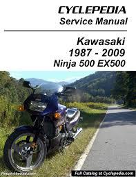 kawasaki ex500 ninja 500 cyclepedia printed motorcycle service kawasaki ex500 ninja 500 manual
