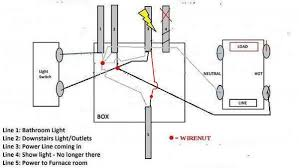 gfci won t power other outlets doityourself com community forums bathroom wiring diagram jpg views 687 size 26 2 kb