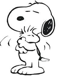 Snoopy Woodstock Coloring Pages Peanuts Vonsurroquen