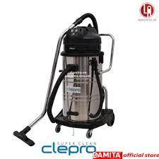 Máy hút bụi công nghiệp Clepro S3/60 - 60 lít - 3 motor - Máy hút bụi