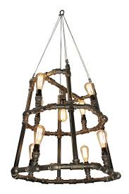 industrial lighting ideas. industrial lighting chandelier 12 edison by chicwatts ideas r