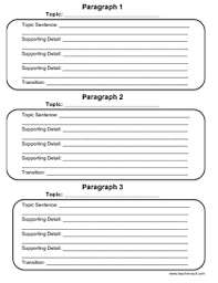 paragraph graphic organizer teaching resources teachers pay  3 paragraph graphic organizer prompts 3 paragraph graphic organizer prompts