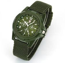 dark green watch for men army style price review and buy in 24 99 aed