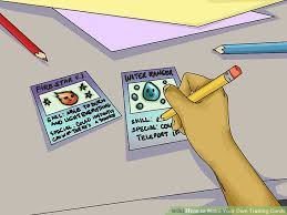 how to make your own trading cards 3 ways to make your own trading cards wikihow