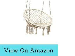 sorbus hanging chair stand for outdoor indoor