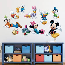 8 roles mickey mouse clubhouse large wall sticker baby nursery decor kids gift