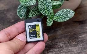 Số phận thẻ nhớ Lexar XQD: liệu nó vẫn được sản xuất hay sẽ bị thay bằng  CFexpress trong tương lai
