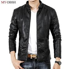2018 new arrival leather jackets men s outwear mens leather coats spring autumn winter pu size s 3xl