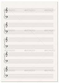 Music Writing Paper Musical Note Paper Magdalene Project Org