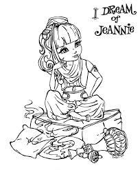 I Dream Of Jeannie By Jadedragonne