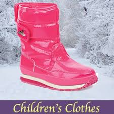Kids Rubber Ducky Snowjogger Boots Girls Size 12 5