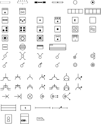 free clipart domestic electric symbols (rgie arei) berteh electrical blueprint symbols at Free Wiring Symbols