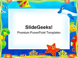 Photo Frame Children Powerpoint Templates And Powerpoint