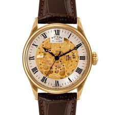 rotary gold plated skeleton watch gs02941 03 rotary watches rotary gold plated skeleton watch gs02941 03