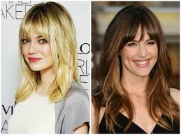 Short To Medium Hairstyles With Bangs 2017