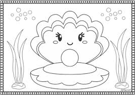 Free 'under the sea'/'sea animals' topic early years/ey (eyfs) activities/resources/display. Under The Sea Coloring Pages Part 2 By Spring Girl Tpt