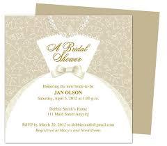 Wedding Invitation Template Publisher Dress Bridal Shower Invitation Templates Printable Diy Template