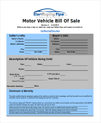 Free Sample Of Bill Of Sale Free Sample Of Bill Sale For Used Car Selo Yogawithjo Co The