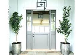Double Dutch Doors Exterior Double Dutch Doors Dutch Front Door Gray