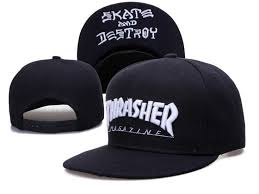 Thrasher Adjustable Embroided <b>Snapback</b> | Шапочка