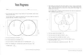 Math Venn Diagram Worksheet Venn Diagrams Literacy Strategies For The Math Classroom
