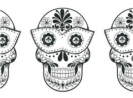 Free Printable Skull Coloring Pages For Adults Sugar Skulls Colorin