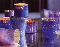 250 00 3 1 4 inch purple mercury glass votive candle holder set