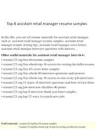 Retail Manager Resume Summary Luxury Grocery Store Manager Resume