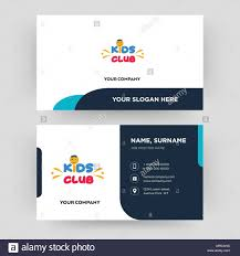 Kids Club Business Card Design Template Visiting For Your