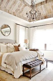 bedroom chandelier with a feminine touch